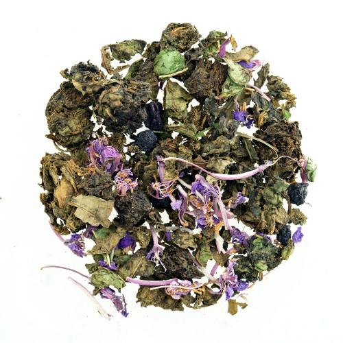 Иван-чай листовой с черникой