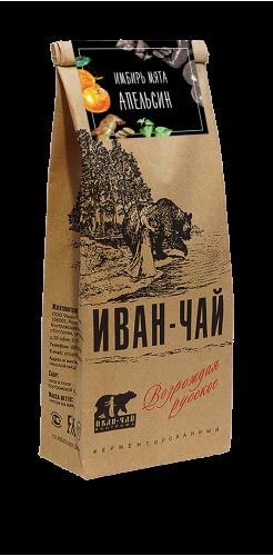 Иван-чай гранулированный с имбирём, мятой и апельсином (100 г)