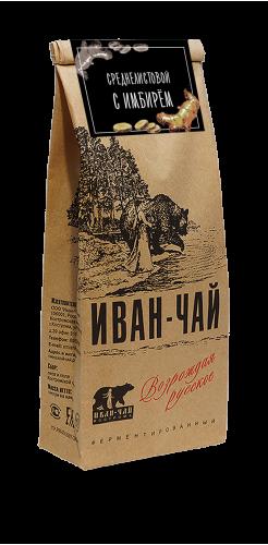 Иван-чай листовой с имбирём (50 г)