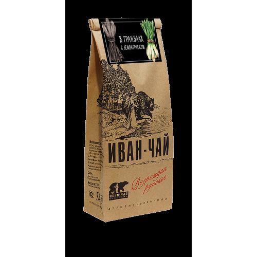 Иван-чай гранулированный с лемонграссом (100 г)