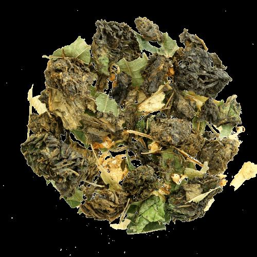 Иван-чай листовой без соцветий c цветом липы