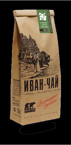 Иван-чай гранулированный с листьями смородины (100 г)