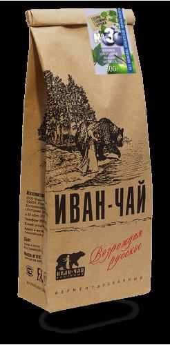 Иван-чай гранулированный с черникой, смородиной, яблоком, мелиссой (100 г)