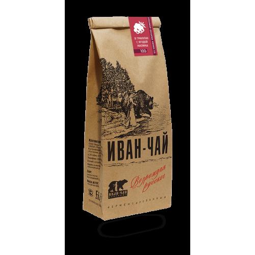 Иван-чай гранулированный с малиной (100 г)