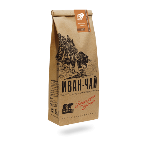 Иван-чай гранулированный с корицей (100 г)